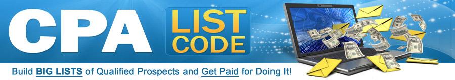 CPA List Code